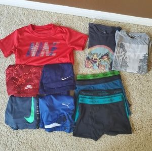 Boys Nike, Dri-Fit,Calvin Klein & Other Lot Size 6